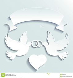Doves Holding Wedding Rings - Download From Over 29 Million High Quality Stock Photos, Images, Vectors. Sign up for FREE today. Image: 42230570