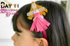 Sleeping Beauty Disney Inspired Princess Ribbon Sculpture Pattern  August 30, 2012