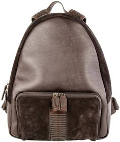 Salvatore Ferragamo Black Leather Backpack- 7112style.website -