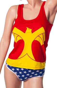 Wonder Woman Underoos Tank Set: Super Heroes: DC Comics Underwear