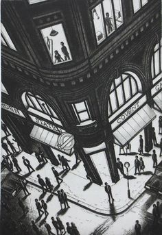 """Covent Garden"" by John Duffin."