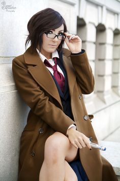 The 10th Doctor by Jessica Nigri, photo by  EnchantedCupcake.