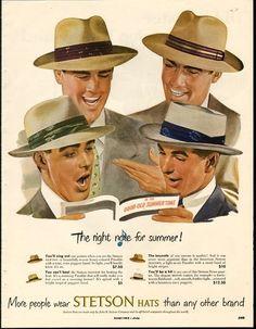 Stetson publicidad de verano