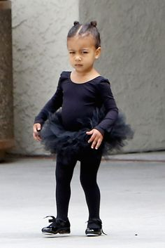 North West- loving the fierce face
