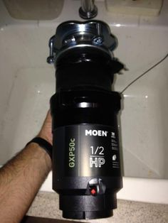 MOEN GX Pro Series 1/2 HP Continuous Feed Garbage Disposal GXP50c at The Home Depot - Mobile