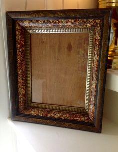 VICTORIAN WOOD WALL FRAME SHADOW BOX #Victorian