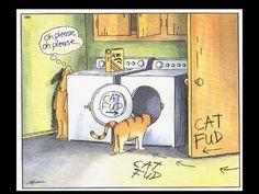 When Did Larson Make Cat Fud