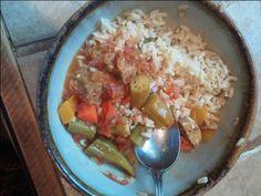 bowl of Vita's Vegan Gumbo