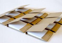 Mini kraft matchbook notepads, party favors, promo items, DIY, kraft, mini jotters, mini notepads, miniature, $4.00, two dozen, etsy