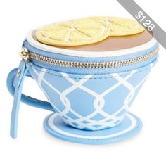 kate spade new york 'tea cup' leather coin purse