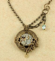Steampunk Pocketwatch Necklace