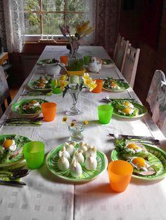 Easter at summer cottage