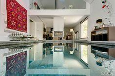 INTERIORES POR CELIA DE COCA Kitchen Cabinets, Mansions, House Styles, Home Decor, Interiors, Decoration Home, Manor Houses, Room Decor, Cabinets