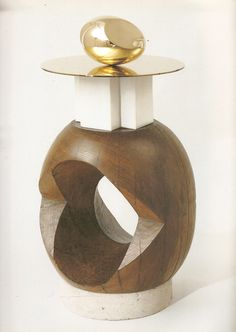 Constantin Brancusi, The Base is Also the Art for Brancusi