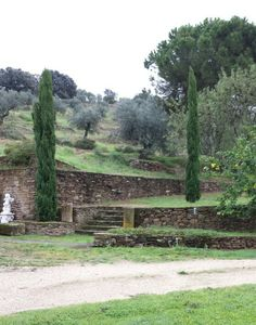 November 3, 2014. Garden. Extremadura.  Spain