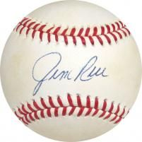db701862bc0 Jim Rice Autographed Baseball - JSA Mike Lowell