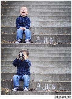 Adorable little boy portrait session.   Aden : Portraits » Ashley Nicole Photographer