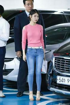 Latest KPop News for all KPop fans! Mature Fashion, Iu Fashion, Fashion Models, Womens Fashion, Airport Fashion, Korean Beauty Girls, Korean Women, Asian Beauty, Singer Fashion