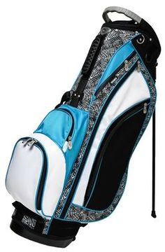 Glove It Stix Golf Stand Bag NEW from Glove It is their ladies golf stand bag. Glove It 6 Way golf stand bags have full length dividers. Golf bags are light in weight and constructed with 75 denier