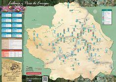 Mapa turístico de Liébana (Picos de Europa)