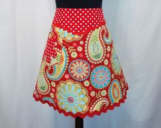 cute apron idea from SugarPieChic. etsy.