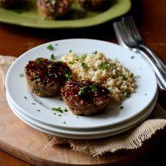Mini Hoisin Turkey & Zucchini Meatloaf Muffins | Cookin' Canuck