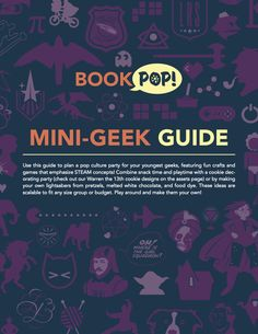 Check out our mini-#geek guide for #BookPop!   #QuirkBooks #education #resources #publishing