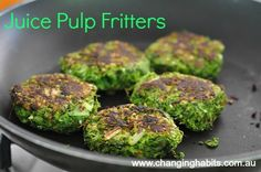 Dont ever waste your juice pulp! It is way too precious. It still contains all those beautiful nutrients and fiber that is still valuable and can be of good use. Here is a quick easy recipe that can be enjoyed for breakfast, a snack, dinner and so on! Raw Food Recipes, Veggie Recipes, Vegetarian Recipes, Cooking Recipes, Healthy Recipes, Alkaline Recipes, Dinner Recipes, Cleanse Recipes, Smoothie Recipes