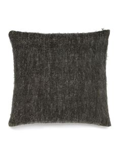 Faux mohair cushion, grey 50x50 £14 sale