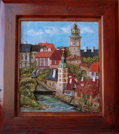 Krumlov Painting, Art, Art Background, Painting Art, Kunst, Paintings, Performing Arts, Painted Canvas, Drawings