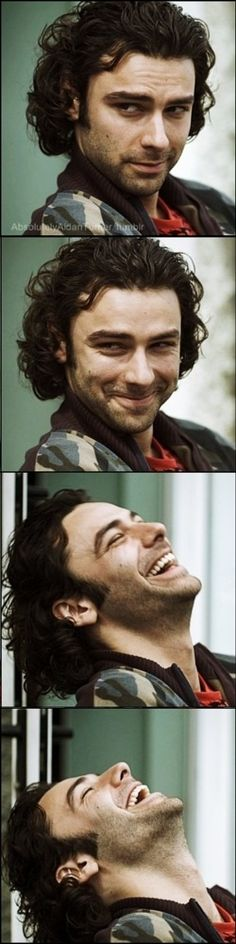 And here's my other favorite! Happy St. Patrick's Day to you too, Aidan Turner, you Irish bug!