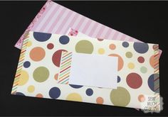 DIY Washi Tape Envelope