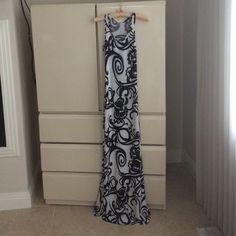 "American Twist Dress American Twist maxi dress. NWOT..62"" length top to bottom. Rayon/ polyester mix. Super cute print American Twist Dresses Maxi"