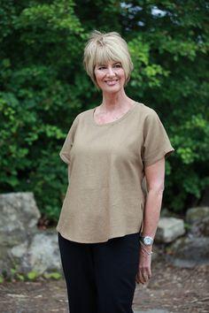 Selina Top in 5 colours - Patricia Dawson