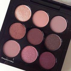 MAC Cosmetics Burgandy Eyeshadow Palette.