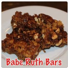 Babe Ruth Bars - Quick, Easy and DELICIOUS