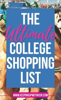 What To Bring To College Everything You Really Need  Items To