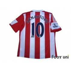 4aba15ce6 Stoke City 2013-2014 Home Shirt  10 Arnautovic BARCLAYS PREMIER LEAGUE Patch  Badge