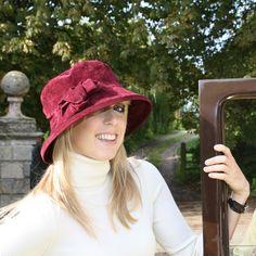 Peak and Brim Designer Hats British Hats, Rain Hat, Hat Sizes, One Size Fits All, Burgundy, Anna, Stylish, Beautiful, Country