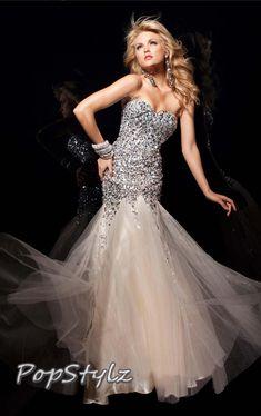 Tony Bowls Gorgeous Mermaid Gown