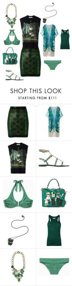 """""""dress shabbily"""" by emmamegan-5678 ❤ liked on Polyvore featuring Balmain, Athena Procopiou, Off-White, Valentino, Heidi Klein, Dolce&Gabbana, Nikos Koulis, Boks & Baum and modern"""