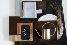 Interior design_material board_color palette