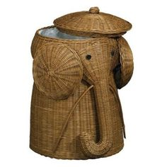 Elephant Hamper in Brown at The Home Depot