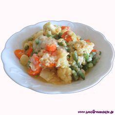Gemüsecurry mit Hirse - Rezept mit Bild Das Gemüsecurry ist ein kalorienarmes Hirsegericht vegetarisch laktosefrei glutenfrei