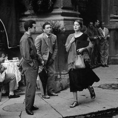 American Girl in Italy by Ruth Orkin, 1951