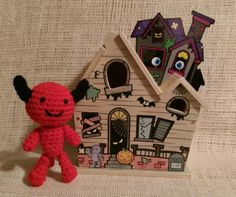 Crochet Amigurumi Little Halloween Devil