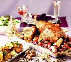 Thanksgiving  menu.