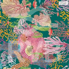 DP0681 | Arte Fundo do Mar | RVB Prints | Estamparia Digital | FITNESS