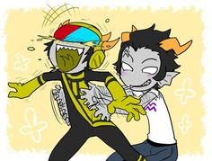 Cronus Ampora and Mituna Captor<---I will never stop shipping this ...