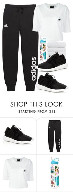 """""""Untitled #780"""" by victoriaam99 ❤ liked on Polyvore featuring adidas and Iscream"""